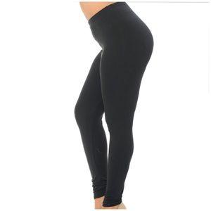Pants - PLUS SIZE SOLID LEGGINGS